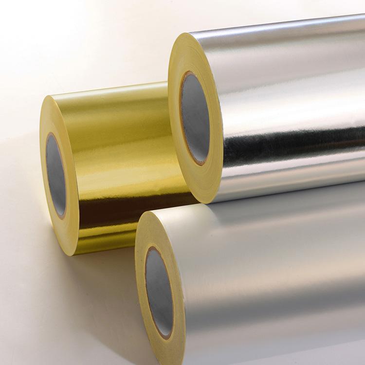 Aluminum Foil Paper Label Stock