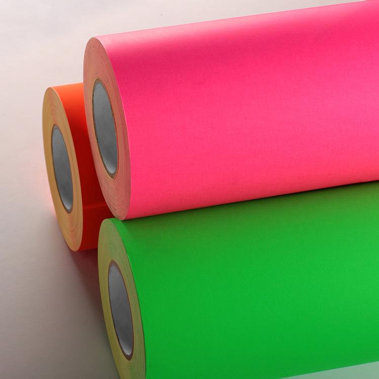 Fluorescent Paper Label Stock