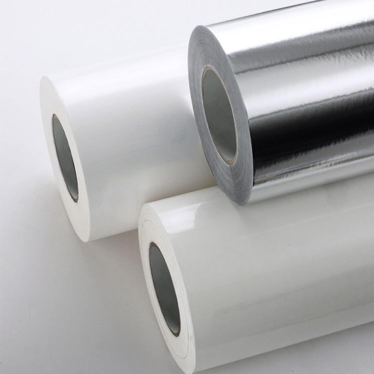 PP Aluminum Film Label Stock