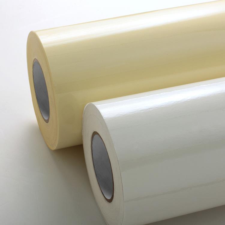 Transparent PVC Film Label Stock
