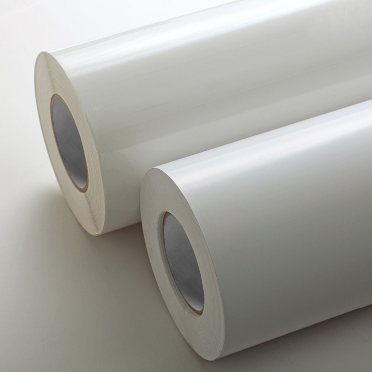 Transparent PVC Label Stock with High Temperature Resistance