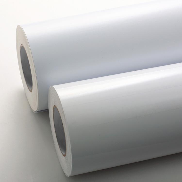 White PVC Film Label Stock